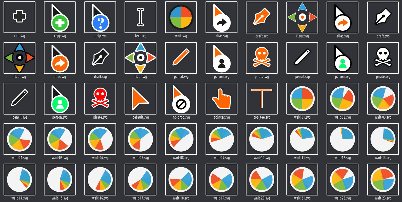bibata-cursor-theme
