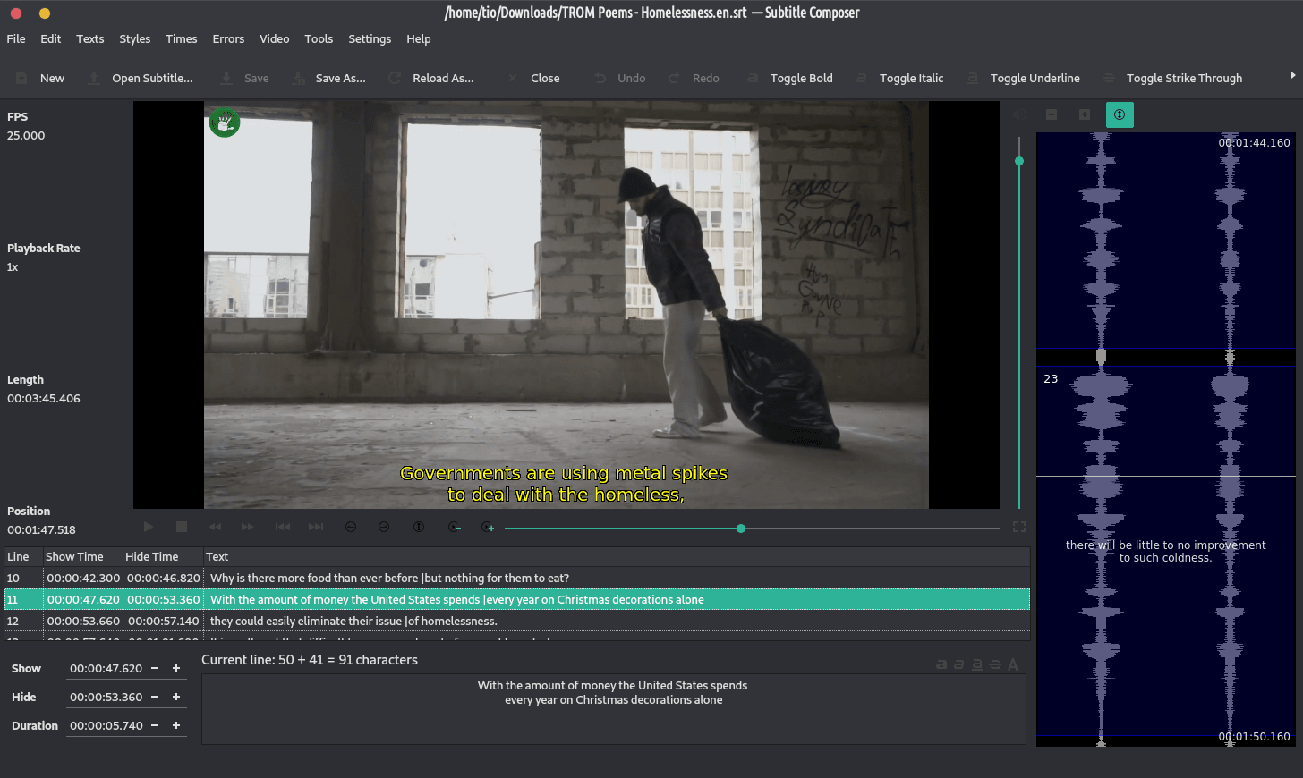 subtitlecomposer