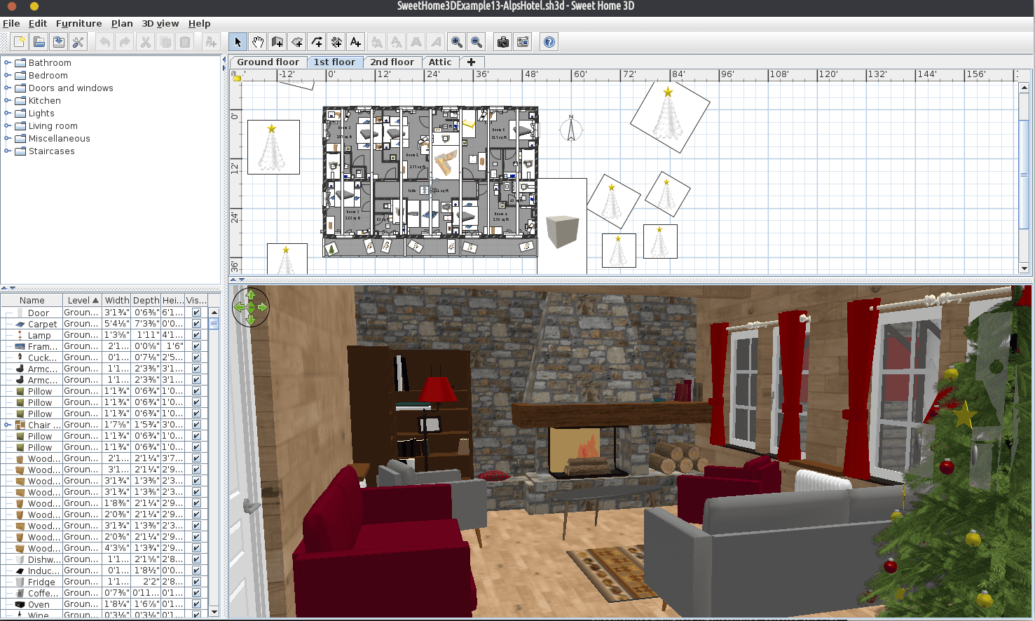 sweethome3d 2