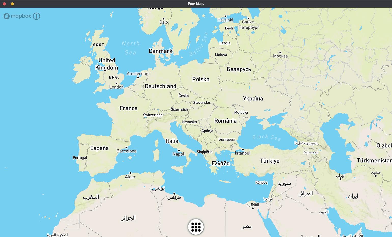 pure maps