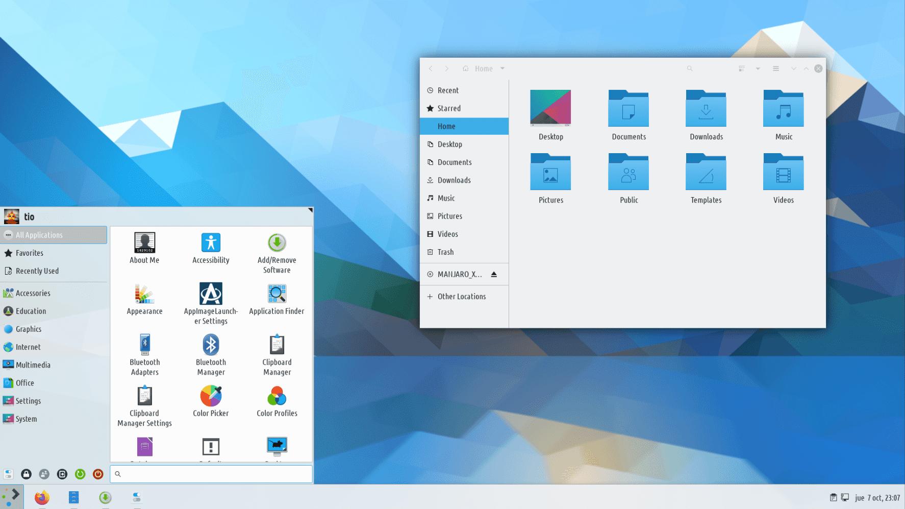 KDE Plasma + Windows