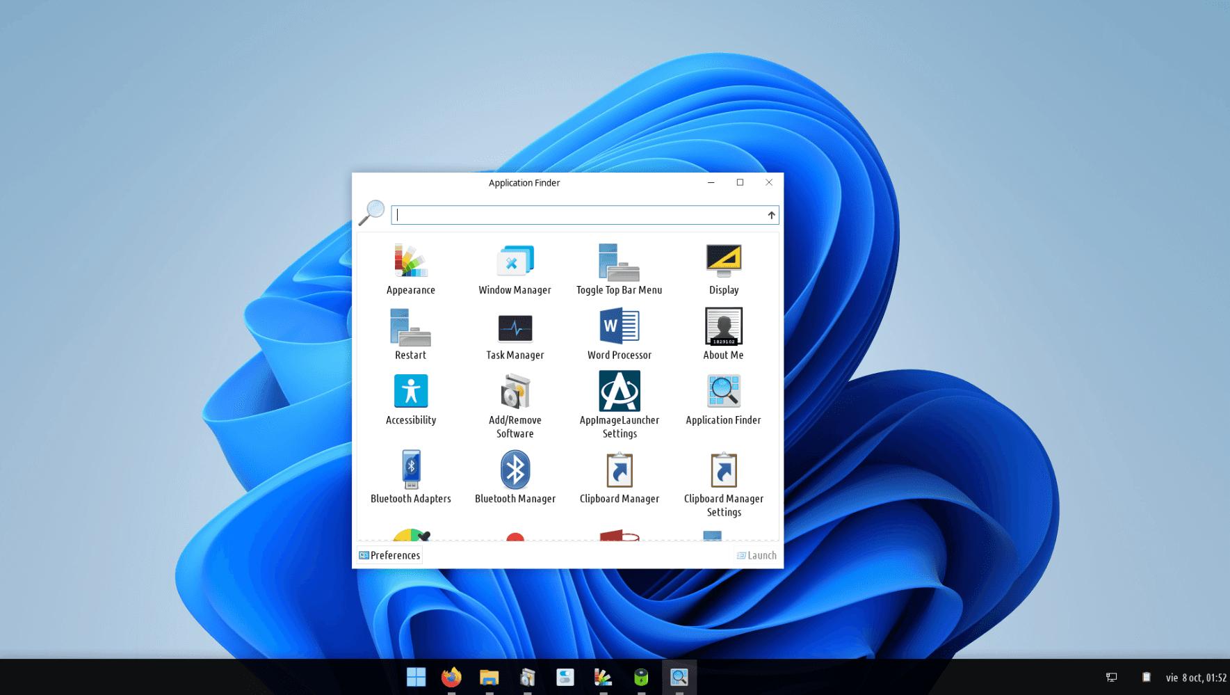 Aplicaciones Windows Light +